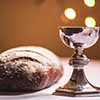 eucharist - bread and wine